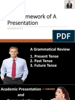 The Framework of a Presentation