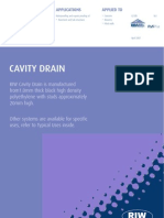 Cavity Drain