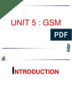 GSM-unit5
