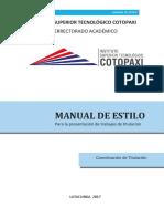 Manual de Estilo ISTC Aprobado 5