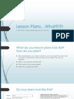 lesson plans workshop2