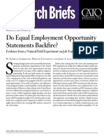 Do Equal Employment Opportunity Statements Backfire?