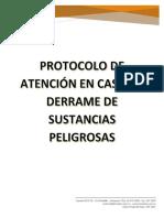 Anexo 6 Protocolo de Atenciàn en Caso de Derrames de Sustancias Peligrosas