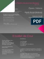 Opera y Teatro Musical en Europa