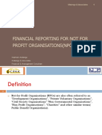 Kenyan Guidance on Statements of Financial Reporting for NPOs by CPA Meshack Matengo