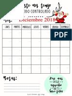 Planner mensual para hacer siempre