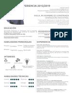 CV Constanza Fredericksen 2019 Tamaño Carta