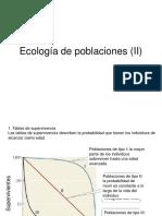 Ecologia de Poblaciones II