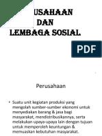 Perusahaan Dan Lembaga Sosial 5 6