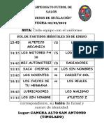 Campeonato Futbol de Salón[1]
