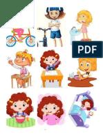fotos actividades niños