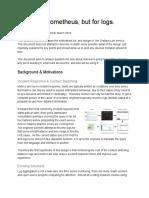 Loki Design Document