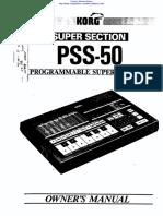 Korg - Super Section PSS-50