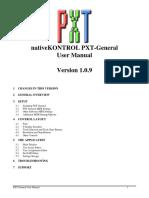 PXT-General User Manual