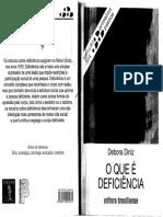 Diniz, Débora. O que é deficiência.pdf