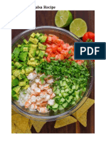 Avocado Shrimp Salsa Recipe