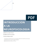 Introduccion de La Neuropsicologia
