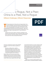 Russia Is a Rogue - China Is a Peer + Rand Corporation