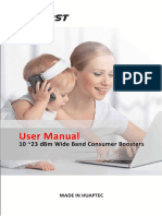 Single-dual-tribands Wide Band Consumer Boosters User Manual 4
