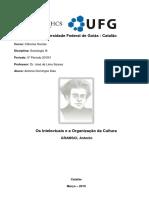 Antonio Gramsci Os Intelectuais e a Organização Da Cultura