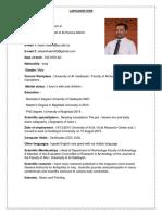 Dr. Salah Hatef CV