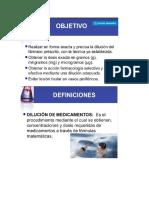 CÁLCULO DE DOSIS Y GOTEOS