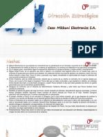 Direccion Estrategica - Caso Mikkuni Electronics s.a.