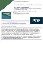 Activity‐Based Costing in UK Universities (Journal Public Money & Management 2009)