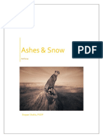 Ashes & Snow