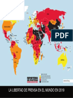 Clasificación Mundial de la Libertad de Prensa 2019