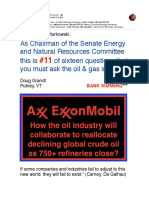 #11 of Sixteen Questions You Must Ask Oil & Gas