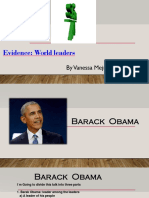 373538273 Evidence World Leaders