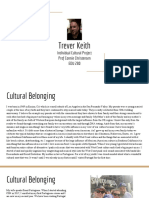 trever keith individual cultural project