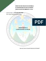 Laboratorio Edafología y Geología Aplicada