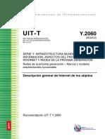 1. Descripción General de Internet de Los Objetos UTI