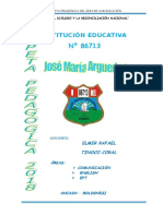 Carpeta Pedagogica Tinoco 2018