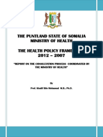 4 Puntland HPF Process and Consultations Report