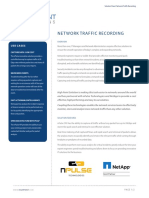 Traffic Recording Solution Sheet