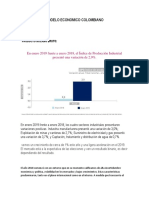Modelo Economico Colombiano Macrro