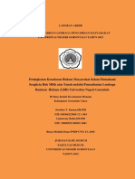Peningkatan Kesadaran Hukum Masyarakat Dalam Memahami Sengketa Hak Milik Atas Tanah Melalui Pemanfaatan Lembaga Bantuan Hukum LBH Universitas Negeri Gorontalo