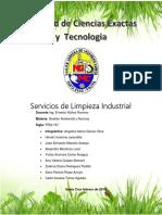 Servicios de Limpieza Industrial aplicación de ISO 140001