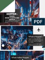 social media presentation - hopper