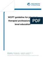 Guideline PTEducation Complete Phisioterapy