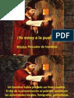YO ESTOY A LA PUERTA