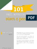 [ Viver e Pensar ] 101 Frases Inspiradoras para Viver e Pensar.pdf