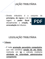 LEGISLAÃ_Ã_O TRIBUTÃ_RIA AULA 01 CONTÃ_BEIS 2019-2