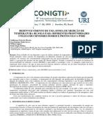 Desenvolvimento de Uma Sonda de Medição de Temperatura de Solo Para Diferentes Profundidades Utilizando Sensores Ds18b20 e Protocolo 1-Wire (Corrigido)