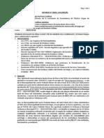 Sustento Técnico Ambiental para la Solicitud de exoneración de pago por derecho de acopio de Residuos Sólidos.