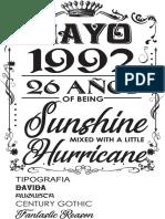 Sunshine Hurricane tipografia.pdf