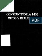 Constantinopla, Principio y Fin